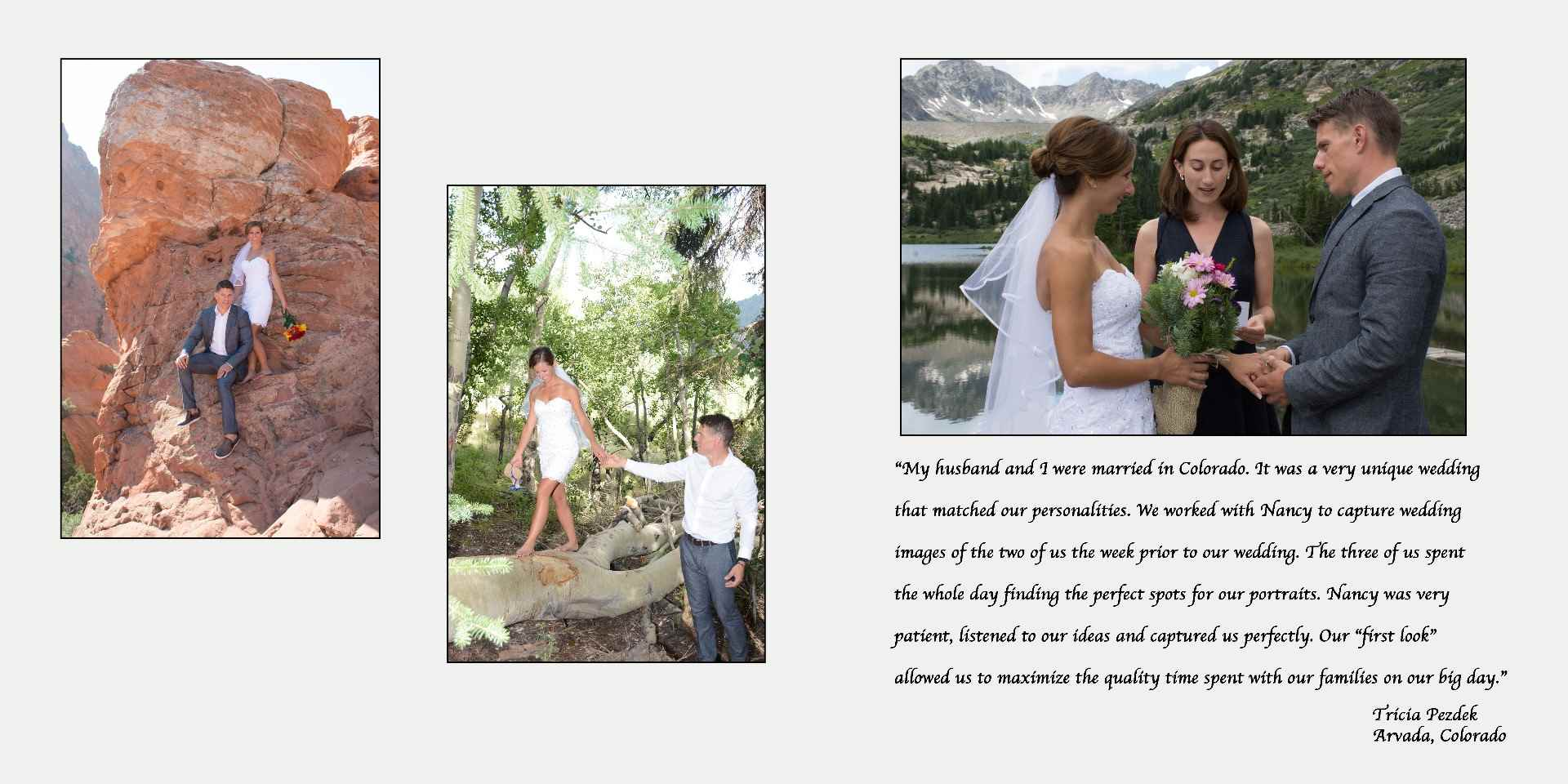 Destination Wedding Photographer, Mountain Weddings, Arvada Colorado