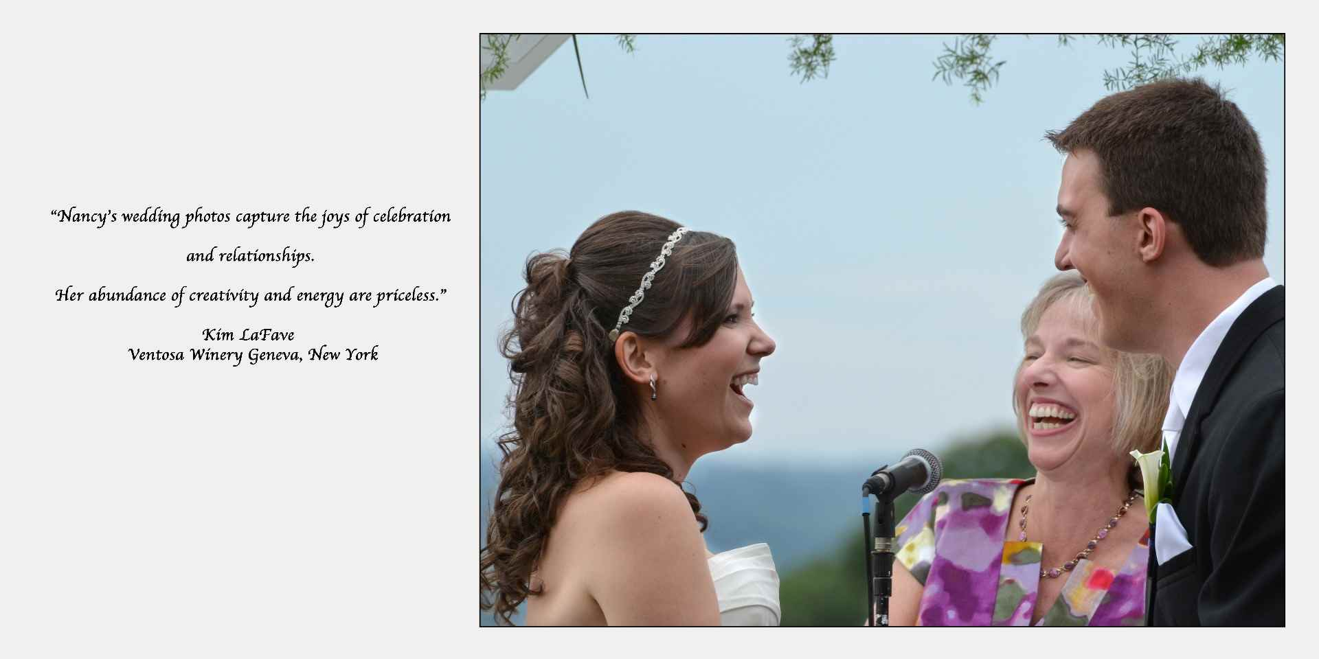 Finger Lakes Wedding Photographer, Ventosa Winery Wedding Photographer, Winery Weddings