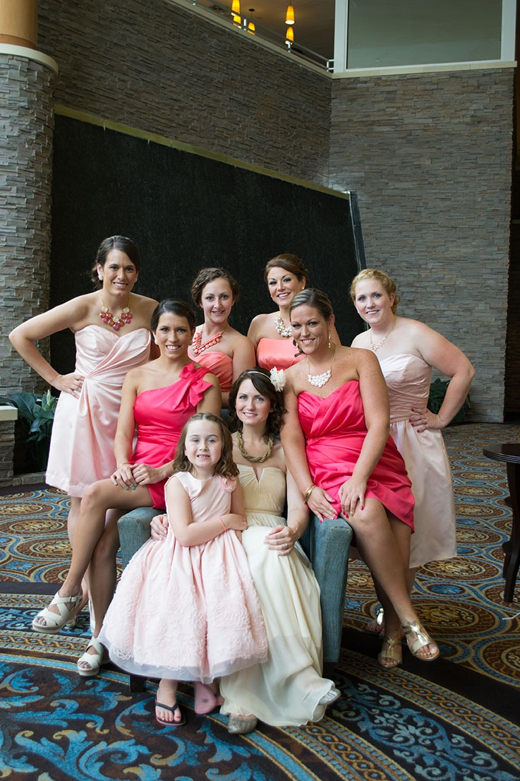 Wedding at Turning Stone Casino, Vernon, NY